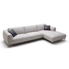 New York Leather Chaise Suite