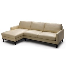 Langford Leather Chaise Suite