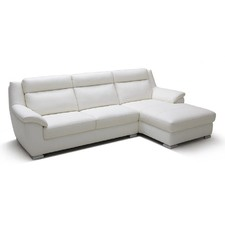 Atlanta Leather Chaise Suite