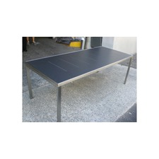 Marine Compact Dining Table in Grey