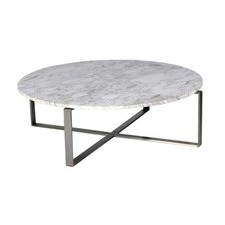 Mercy Round Marble Coffee Table