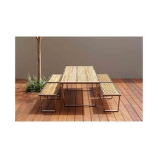 Plantation 250cm x 95cm Dining Table with Flat Pack