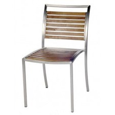 Kauai Slatted Wood Dining Chair