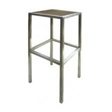 75cm  Kauai Teak & Stainless Steel Barstool