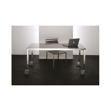 Aluminium Frame Rolling Dining Table