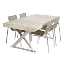 Peninsula Cement Fibre Table with LYN Base