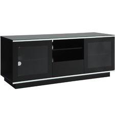 150cm Modern Glass-Top Entertainment Unit