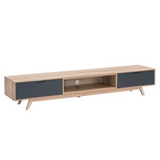 Grey Nova Low Line TV Unit