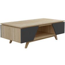 Nordic Oak Wood Coffee Table