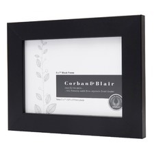 "Block Lanscape Photo Frame in 5"" x 7"""