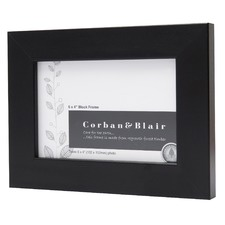"Block Lanscape Photo Frame in 6"" x 4"""