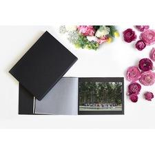 Boxed Black Photograph Album