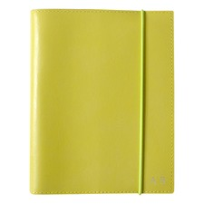 A6 Yellow Leather Journal