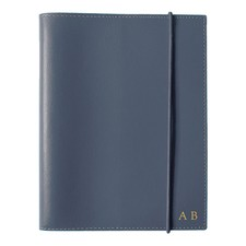 A6 Navy Leather Journal
