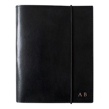 A6 Black Leather Journal