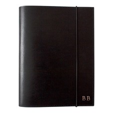 A5 Black Leather Journal