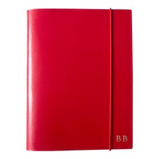 A5 Red Leather Journal
