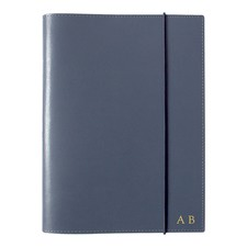 A5 Navy Leather Journal