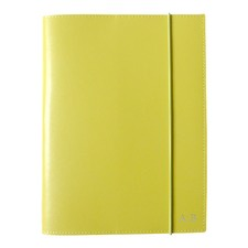 A5 Yellow Leather Journal