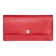 Basics Red Travel Wallet