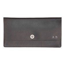 Basics Brown Travel Wallet