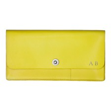Basics Yellow Travel Wallet