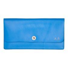Basics Blue Travel Wallet
