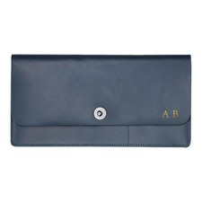 Basics Navy Travel Wallet