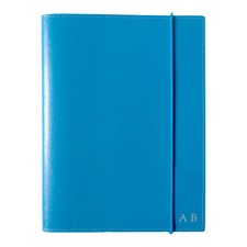 A5 Blue Leather Journal