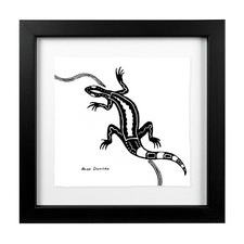 Euraba Goanna Framed Artwork