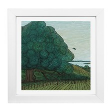 Elliot Mason Framed Print Puriri Tree