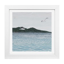 Elliot Mason Framed Print Mayor Island