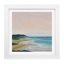 Elliot Mason Framed Print Rabbit Island