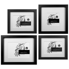 4 Piece Kalhu Slim Box Wall of Frames Set