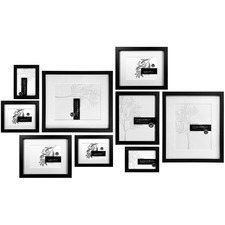 9 Piece Tapu Slim Box Wall of Frames Set