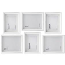 6 Piece Maheno Shadow Box Wall of Frames Set