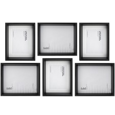 6 Piece Maheno Shadow Box Wall of Frames Set