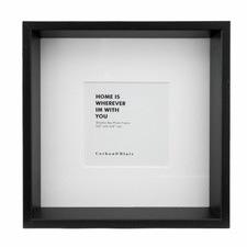 "4 x 4"" Wooden Shadow Box Frame"