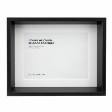 "5 x 7"" Wooden Shadow Box Frame"