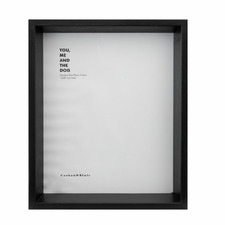 "10 x 8"" Wooden Shadow Box Frame"