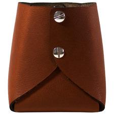 Tan Artisan Leather Pen Pod