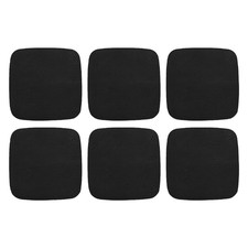 Artisan Cowhide Leather Coasters (Set of 6)