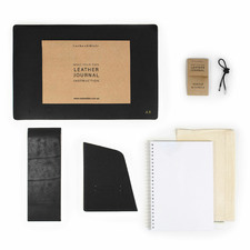 Make-Your-Own Personalised Leather Journal Kit