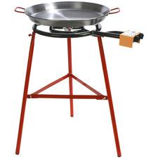 3 Piece Tabarca 50cm Paella Pan Stand Set