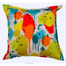 Paint Splash Outdoor/Indoor Cushion
