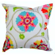 Ikat Floral Outdoor/Indoor Cushion