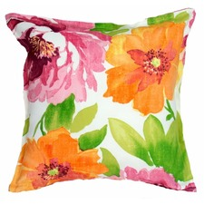 Large Blooms Outdoor/Indoor Cushion