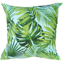 Aqua Rainforest Indoor/Outdoor Cushion