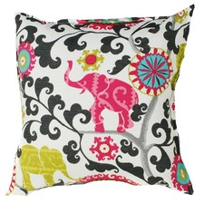 Elephant Charcoal Indoor/Outdoor Cushion