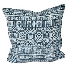 Indigo Batik Indoor/Outdoor Cushion